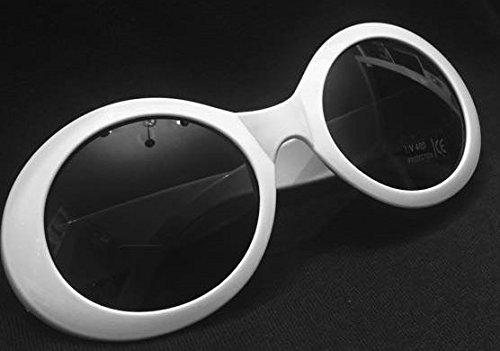 MyPartyShirt Kurt Cobain Sonnenbrille Nirvana Onassis Mod Grunge Jackie O Round