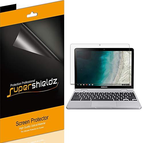 Supershieldz Bildschirmschutzfolie für Samsung Chromebook Plus V2, hohe Auflösung & lebenslanger Ersatz, 3 Stück