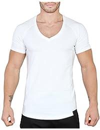 Smilodox Herren V-Neck T-Shirt Reloaded