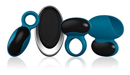LAmourose-Paramour-Set-de-Stimulateur-pour-Homme-Bleu