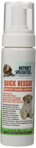 Nature's Specialties Quick Rescue Foaming Facial Wash for Pets, 6.7-Ounce by Nature's Specialties Mfg - Foaming Wash