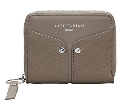 Liebeskind Berlin Damen Duo Conny Wallet Medium Geldbörse, Grau (Cold Grey), 2x10x13 cm - Leder Damen-medium Wallet
