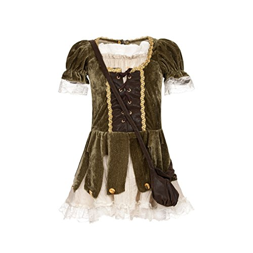 (Kostümplanet Robin Hood Kostüm Mädchen Kinder Faschingskostüme Größe 164)
