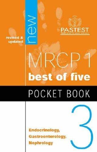 MRCP 1 Pocket Book 3: Endocrinology, Gastroenterology, Nephrology (Multiple Choice Pocket Book) by C. Dayan (2004-04-30)