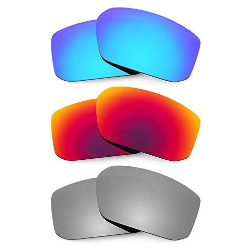 Revant Ersatzlinsen für Spy Optic McCoy Polarisiert 3 Paar Kombipack K017
