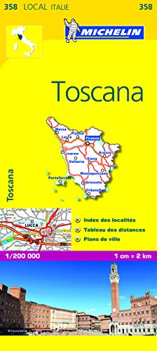 Carte LOCAL Toscane par Collectif Michelin