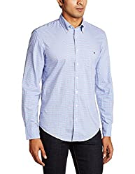 Gant Mens Casual Shirt (8907259567983_GMSIB0032_Large_Pale Blue)