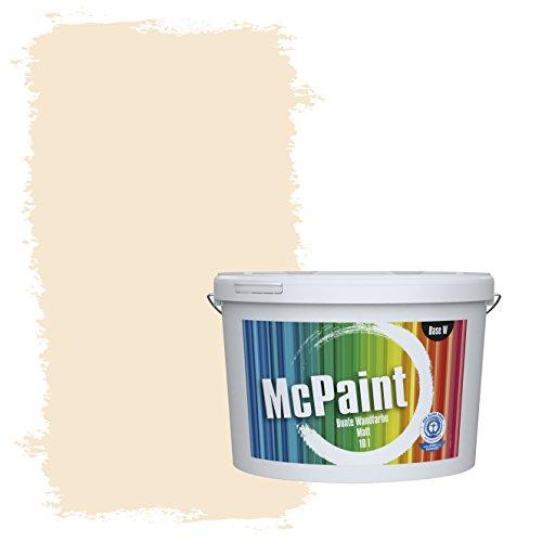 McPaint Bunte Wandfarbe Vanilla - 5 Liter - Weitere Orange Farbtöne Erhältlich - Weitere Größen Verfügbar