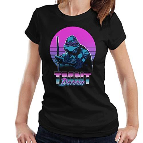 (Teenage Mutant Ninja Turtles Donnie 80s Women's T-Shirt)