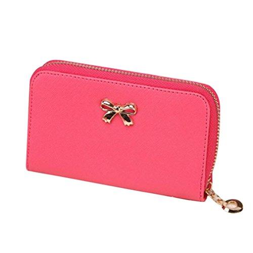 lhwy-women-korean-cute-bowknot-purse-solid-wearable-short-wallet-handbag-hot-pink