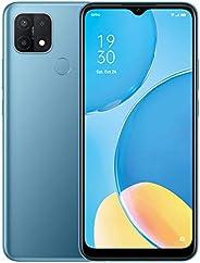 OPPO A15-6.5 inch, Dual sim, 32GB + Expandable 256GB, Triple AI Camera Sim Free Android 10 Smartphone - Blue