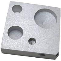 Kimble Chase K720200/0001 bloque de calefacción de aluminio para kits estándar (parte inferior sólida), junta 14/10