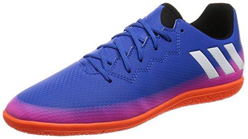 adidas Messi 16.3 Indoor, Scarpe da Calcio Unisex - Bambini, Blu (Azul/Ftwbla/Narsol), 38 2/3 EU