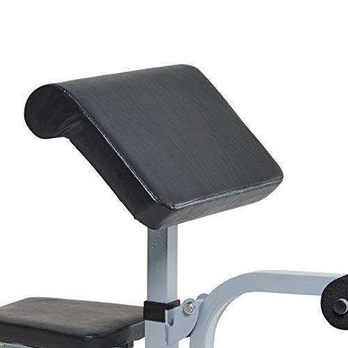 York Fitness - Soporte para brazo para banco de gimnasia