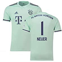 2018-19 Bayern Munich Away Football Soccer T-Shirt Camiseta (Manuel Neuer 1