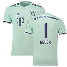 2018-19 Bayern Munich Away Football Soccer T-Shirt Camiseta (Manuel Neuer 1