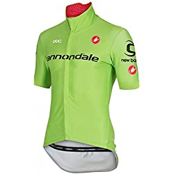 Castelli - Perfetto Windstopper Jersey, color cannondale, talla XL