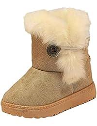Zapatos de Bebé,Ouneed ® Forme a bebé del invierno el estilo Martin del ejército patea las botas de la nieve calientan los zapatos