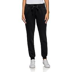 oodji Ultra Mujer Pantalones de Punto (Pack de 3), Negro, ES 38 / S