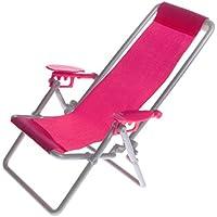 Mini Sdraio Da Spiaggia.Amazon It Sdraio Da Spiaggia Mobili Mini Bambole E Accessori