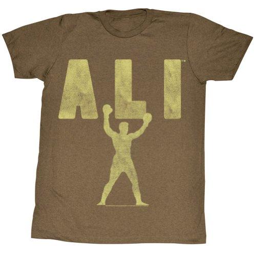 Muhammad Ali - Herren Ali Victory T-Shirt In Mocha Heather Mocha Heather