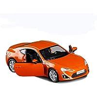 GYZS-TOY Toyota GT86 Modelo de Coche de aleación Pequeño Arma de Acero Coupe Simulación