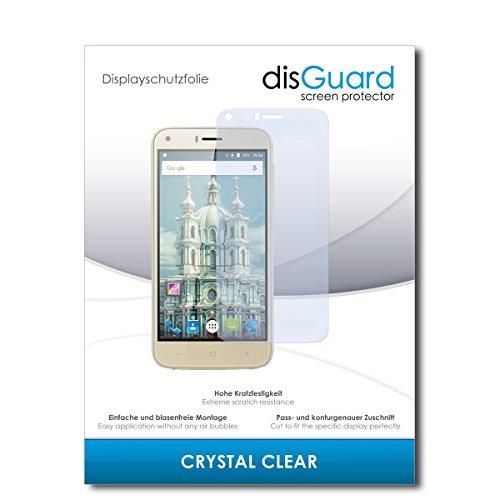 disGuard® Bildschirmschutzfolie [Crystal Clear] kompatibel mit UMIDIGI London [2 Stück] Kristallklar, Transparent, Unsichtbar, Extrem Kratzfest, Anti-Fingerabdruck - Panzerglas Folie, Schutzfolie