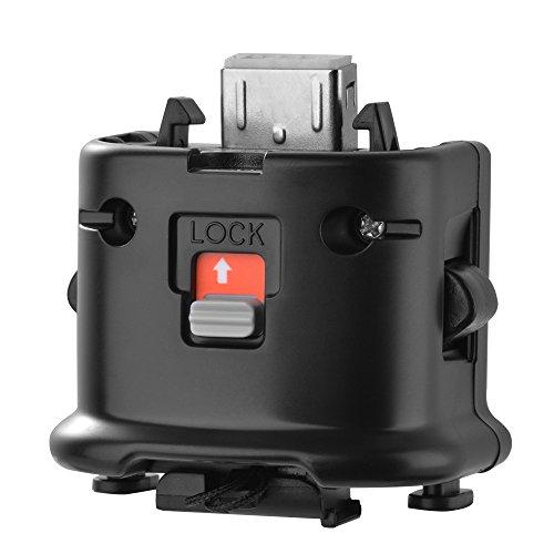 bonega WII Motion Plus Adapter für Original Nintendo WII Remote Controller Schwarz (Plus Schwarze Wii Motion Adapter)