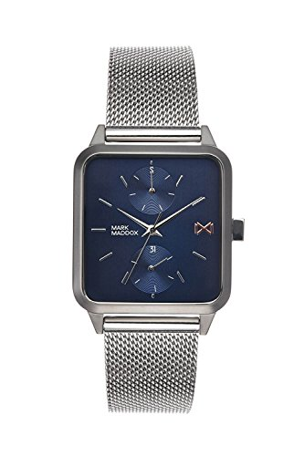 Mark Maddox Men's Analogue Quartz Watch with Stainless Steel Strap HM7106-37