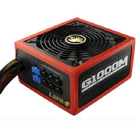 LEPA G1000-MB MaxGold Series - 1000 Watt - Alimentazione per PC - Computer Case Atx Enermax Nero
