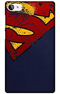 iessential superman Designer Printed Back Case Cover for Lenovo Z2 Plus