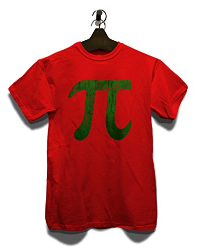 Pi Vintage T-Shirt Rot