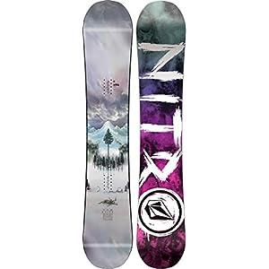 Nitro Snowboards Herren Beast Xvolcom BRD'19 Highend Premium Twin Camber Freestyle Boards