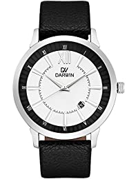 Darwin Classic Collection Black And White Dial With Date Display Professional Or Daily Wear Imported Analogue...