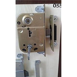 Abloy 2014. Schutzhülle für Innentüren der mit 1Schlüssel, Brass Front Plate, 1