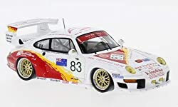 Unbekannt Porsche 911 GT2, No.83, 24h Le Mans, 1996, Modellauto, Fertigmodell, Spark 1:43
