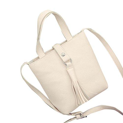 Transer  Handbags & Single Shoulder Bags Women Zipper Bag Girls Hand Bag, Borsa Messenger  Unisex adulti Donna Uomo Unisex per bambini Bambini Beige 16cm(L)*20(H)*9cm(W) Beige