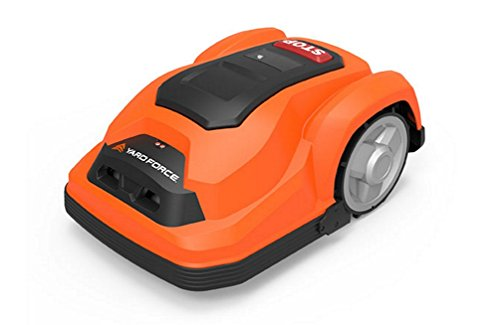 YardForce SA600 Mähroboter, Orange/Schwarz