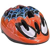 Toim- Spiderman Casco, Color Rojo/Blanco/Negro/Azul, 50 centimeters/56 Centimeters (85-10860)
