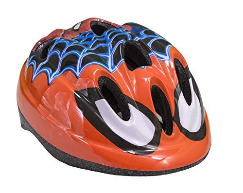 Toimsa Disney Kinder Schutzhelm Kinderhelm Kinderfahrradhelm Fahrrad Helm Spiderman (Fahrrad Kind Helm)