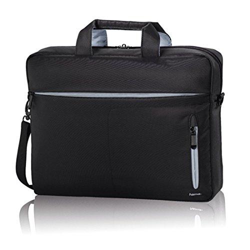 Hama Laptoptasche (Tasche für Laptop / Notebook bis 40 cm, (15,6 Zoll) ), Notebooktasche, schwarz/grau