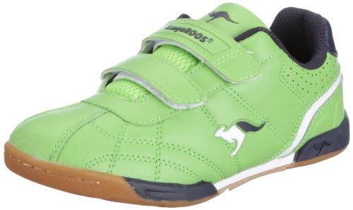 KangaROOS Hector-Combo, Jungen Sneakers, Gelb (lime/wht/navy 804), 39 EU