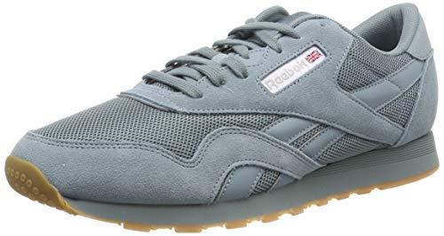 Reebok Herren CL Nylon MU Sneaker, Türkis (Seasonal-Teal Fog/White/Skull Grey 0), 45 EU