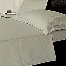 Ropa de cama clásica y tradicional de satén, 1.000 hilos de algodón egipcio puro,