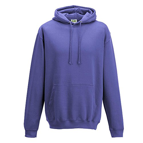 Just Hoods College Hoodie True Violet
