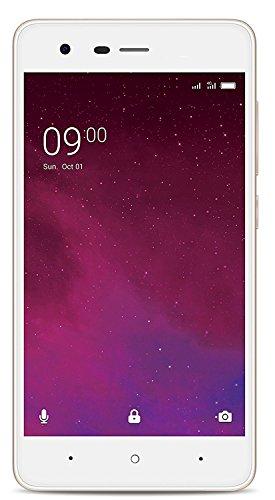 Surya Le-Phone W10 4G Volte 1GB RAM with 5-inch 720p Display 8 GB Internal Memory and 5 Mpix/2 Mpix HD Smartphone(Gold)