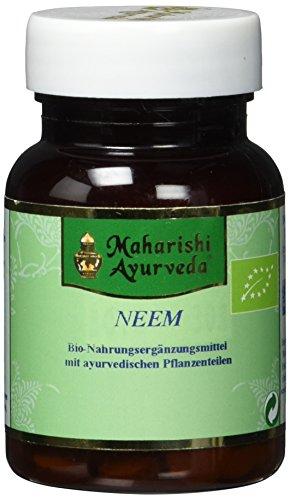 Neem Tabletten BIO (60 Stück, 1 x 30 g), Niembaum Tabletten - von Maharishi Ayurveda
