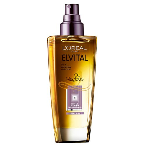 L'Oréal Paris Elvital Öl Magique Feines Haar, 1er Pack (1 x 100 ml)