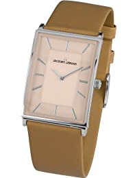 Jacques Lemans Damen-Armbanduhr XS York Analog Quarz Leder 1-1604F
