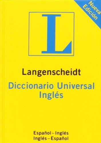 Diccionario universal inglés - español